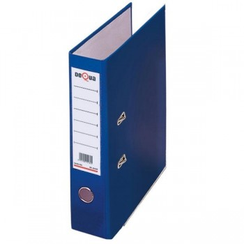 Archivador con rado cartón Dequa A4 70mm azul