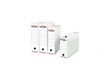 Pack 50 cajas archivo definitivo Dequa folio prolongado
