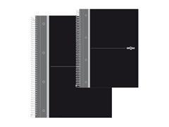 Cuaderno micro.160 tapa dura DEQUA 70gr A4 negro