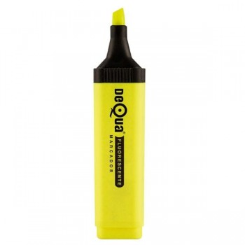 Rotulador fluorescente Dequa amarillo
