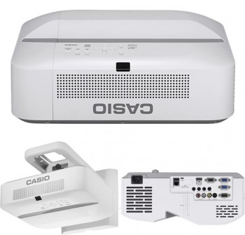 CASIO  Videoproyector ultra corto XJ-UT311WN 3100AL, XGA, ratio 0,28:1 contraste 20000:1, 1,07 billo