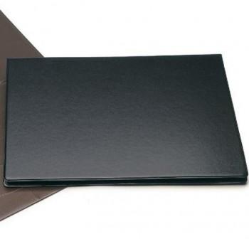 Vade doble sobremesa PVC 480X340mm negro