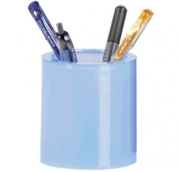 Cubilete azul traslúcido