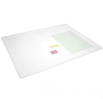 Vade Duraglas  transparente antirreflectante para guardar documentación. 650 x 500 mm
