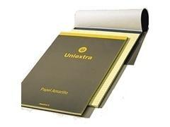 Bloc notas con tapa uniextra a-4 50h horizontal amarillo
