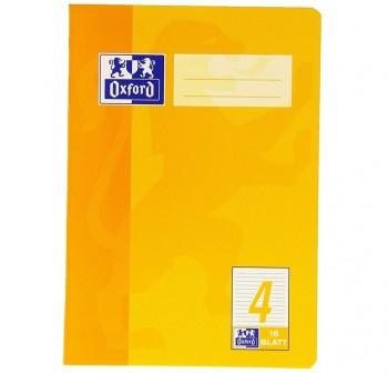 Recambio Oxford color tapas blandas A4+  80 5x5 amarillo