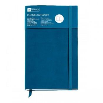 Cuaderno flexible Top Nordic Colors 130x210mm 96 h. azul petróleo