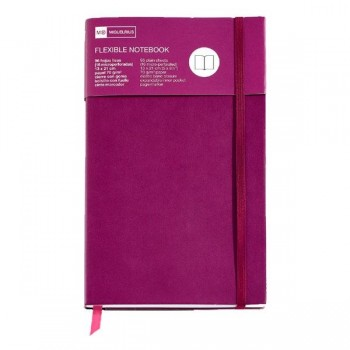 Cuaderno flexible Top Nordic Colors 130x210mm 96 h. púrpura