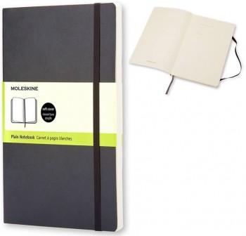 Moleskine Cuaderno clásico tapa blanda negra p lisa