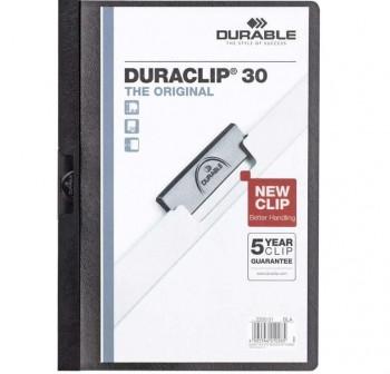 Dossier pinza Duraclip 1-30h a4 negro