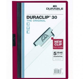 Dossier pinza Duraclip 1-30h a4 morado