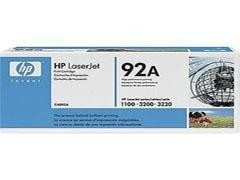 HP Toner laser C4092A negro original (EP-22)