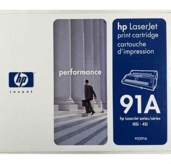 HP Toner laser 92291A negro original