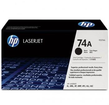 HP Toner laser 92274A negro original