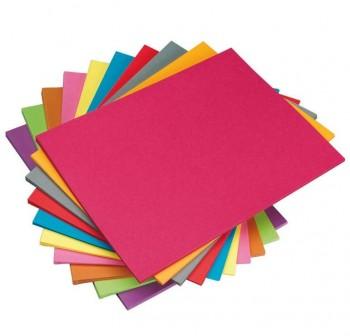 SADIPAL Din A-4 cartulina colores paquete de 50hojas