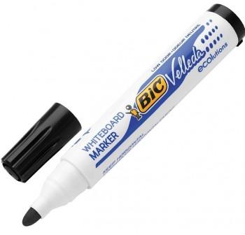 Marcador pizarra punta cónica Bic Velleda whiteboard marker trazo 1,3mm negro