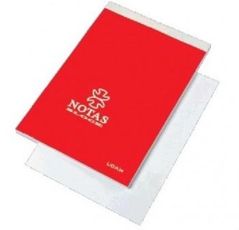 LOAN Bloc notas folio liso sin tapa