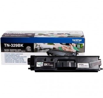 BROTHER Toner laser TN-329BK original (6k) NEGRO