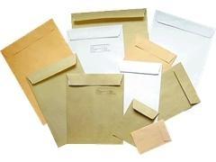 Caja 1000 sobres verjurado 90X140mm caña