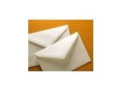 Caja 100 sobres clasico registro 90X140 crema
