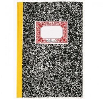 Cuaderno cartóne contabilidad folio 100h cuentas corrientes