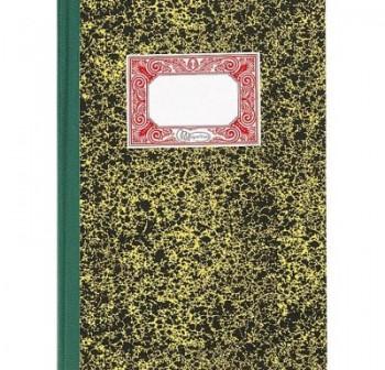 Cuaderno cartóne contabilidad 4º 100h rayado horizontal