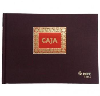 DOHE Libro cont. caja 1/4 apaisado 100hojas
