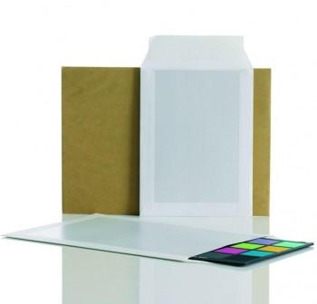 Caja 125 Bolsas dorso cartón folio prolongado 260X330mm
