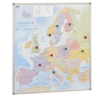 Mapa Faibo de Europa magnético 93x119 cm
