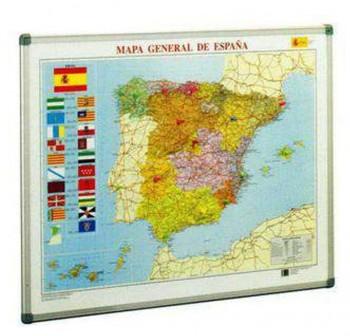 Mapa Faibo de España fondo clásico 72x93 cm