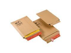 Pack 20 bolsas cartón extra rígido 180x27x50mm ( A5)