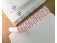 Caja 100 Bolsas folio PROlongado 260X360mm kraft armado blanco 125gr.