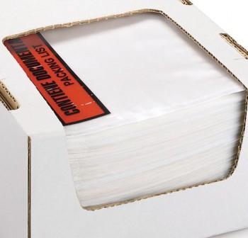 Caja 250 sobres adhesivos Portadocumentos dokufix texto impreso 125x110mm