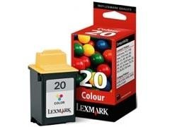 LEXMARK Cartucho inkjet 15M0120 color origin.Nº20 (450pag)