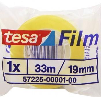 Cinta adhesiva Tesafilm  33mx19mm estándar en bolsa