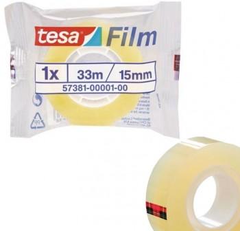 Cinta adhesiva tesafilm Standard 33mx15mm en bolsita