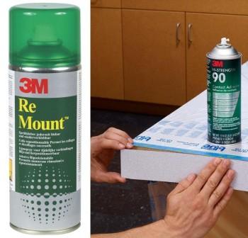 3M adhesivo reposicionable indefinidamente sin perder fuerza de adhesi n. 400 ml.