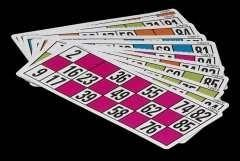 CAYRO Pack carton de bingo 24unidades