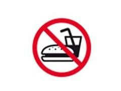 APLI Bolsa etiqueta prohibido comer
