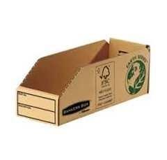 FELLOWES Bandeja de almacenamiento de cartón 98x102x280mm (envase 50uds)