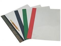 DOHE Dossier fastener PVC folio NEGRO