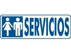"""ARCHIVO2000 Letrero 175X65MM  \""""servicios\"""""""