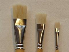 PEBEO Set de paletillas de pela de cerda (3 uds)