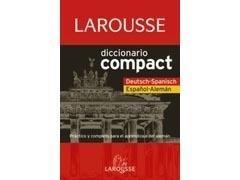 Diccionario Compact LAROUSSE español-aleman/Deutsch-español