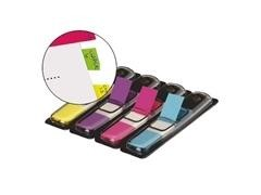 Dispensadores notas index pequeños Post-it mod 683-4AB 12x43,7mm 4 colores
