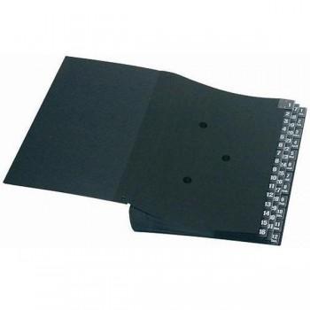 Clasificador 44 departamentos 340X265x90mm negro