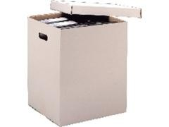 UNIPAPEL Contenedor para archivador palanca c/tapa 358x310x397