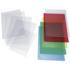 Caja 100 dossiers uñeros pvc a4 cristal