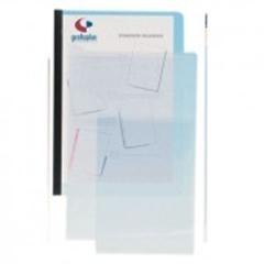Caja 50 Dossiers uñeros PVC folio cristal