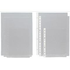 Caja 75 Fundas Portadocumentos PVC con rebaje folio